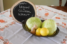lemon*ginger kraut